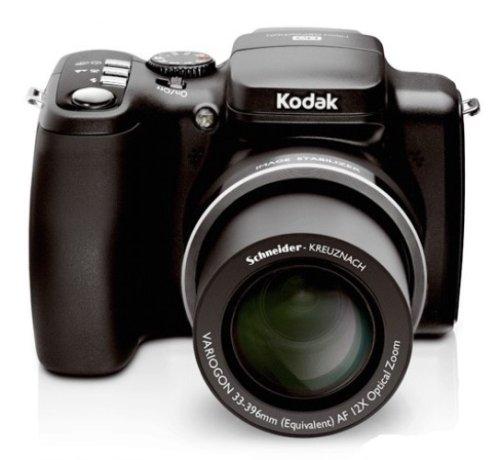 Kodak Z1012 IS Digitalkamera (10 Megapixel, 12-fach opt. Zoom, 6,4 cm (2,5 Zoll) Display, Bildstabilisator) schwarz