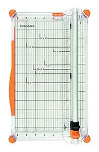 Fiskars 4560 SureCut Plus Massicot Personnel Blanc 30 cm