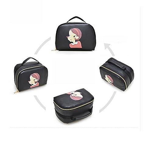 XUEQ Mesdames Sac à Main Cosmétique Bag Watch Anneaux Accessoires Organisateur De Stockage