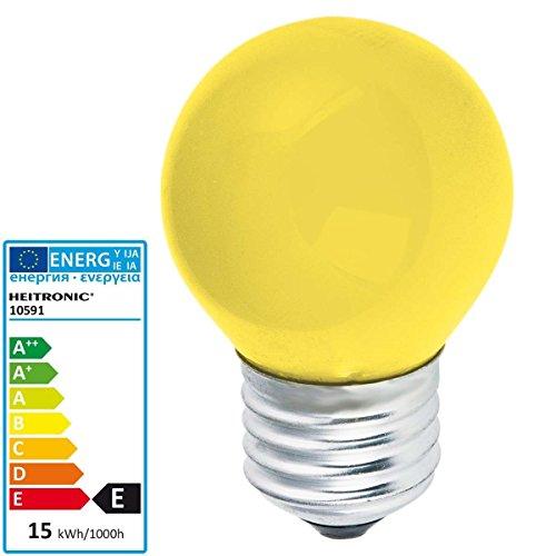 Heitronic Glühlampe Tropfenform E27 15W