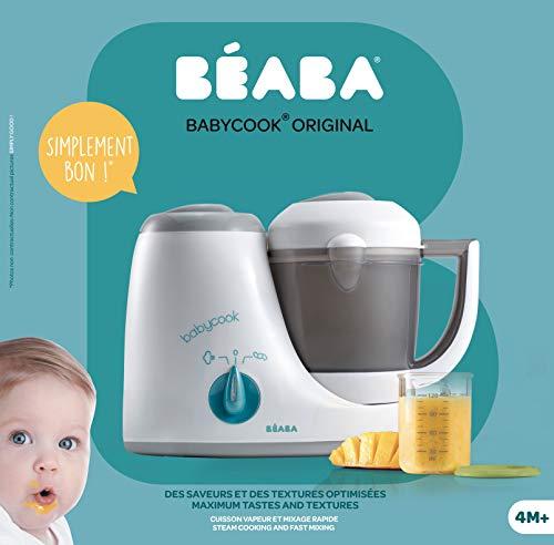Béaba – Babynahrungszubereiter Babycook® Original,rau/Blau - 5