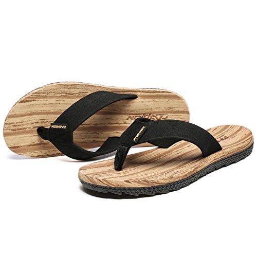 ailishabroy Männer Casual Flip-Flops Gelb