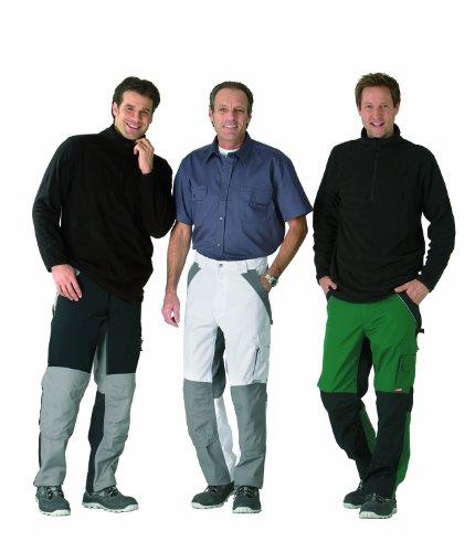 Planam Pantalon plaline - Vert/noir