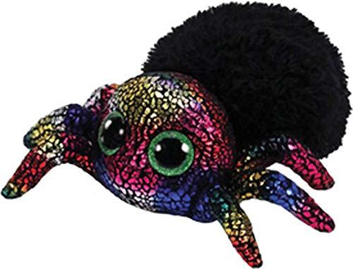 TY 36207 Leggz, Spinne schwarz 15cm Beanie Boo's, bunt