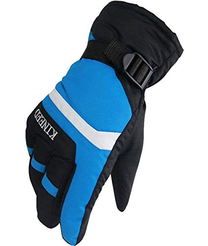 Moda Maschile Guanti Sportivi Da Allenamento Outdoor Morbidi E Guanti Da Moto Guanti Da Equitazione Guanti Sportivi (Color : Blau - Blau, Size : One Size)