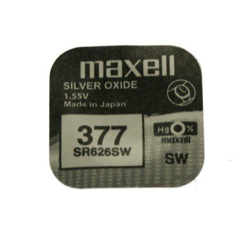 MAXELL SR626SW - 377 - Pila de Óxido de Plata - PACK DE 10 UNIDADES - ENVÍO GRATIS!