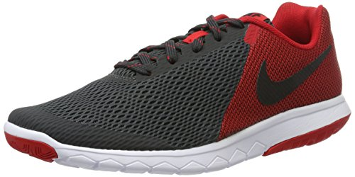 Nike Flex Experience Rn 5, Chaussures de Running Entrainement Homme, Gris (Anthracite/Black-University Red-White), 39 EU