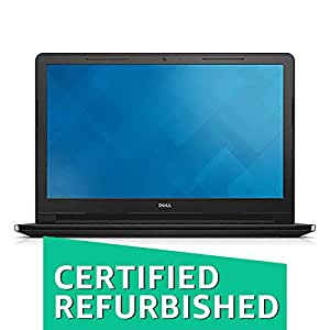(Certified REFURBISHED) Dell Inspiron 3558 15.6-inch Laptop (5th I3-5005U/4GB/1TB/UBUNTU/Integrated Graphics), Black