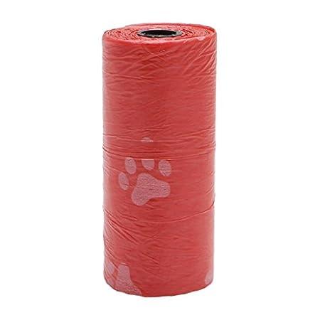Yunso Hundekotbeutel, biologisch abbaubare, parfümierte, tropfsichere Hundetüten (5pcs, Blau)
