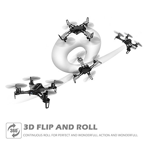 Holy Stone HS230 Drone RC FPV con 120 ° FOV 720P HD Droni Camera Live Video 45Km / h Quadcopter ad Alta velocità di Resistenza al Vento con Schermo LCD 5.8G Trasmettitore in Tempo Reale - 4