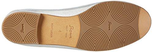 Sioux 60050, Mocassini Donna Argento (Linen)