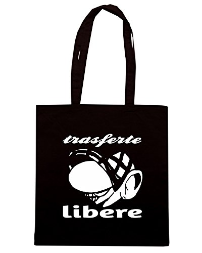 T-Shirtshock - Borsa Shopping TUM0227 ultras liberi Nero