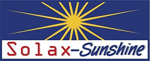 Solax Sunshine Koffer-Klappbank Bierzeltbank Campingbank Bank Gartenbank - 3