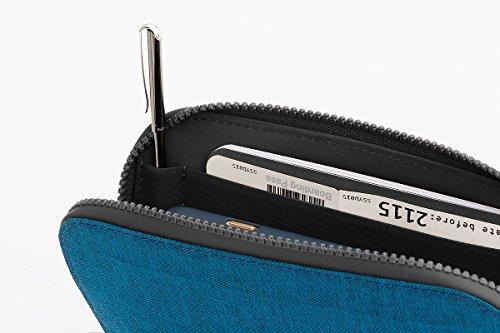 Bellroy Geldbörse All Conditions Essentials Pocket, Farbe: Blue - Woven Blue-Woven