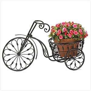 Gifts Decor Nostalgie Rad &Home Garden Decor Pflanzenständer, Gusseisen