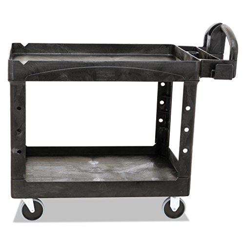 heavy-duty-utility-cart-2-shelf-25-1-4w-x-44d-x-39h-black-sold-as-1-each