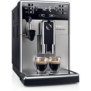 Saeco PicoBaristo HD8924/01 Macchina da Caffè Automatica con Macine in Ceramica, Filtro AquaClean, Cappuccinatore Automatico