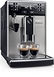 Saeco PicoBaristo HD8924/01 Macchina da Caffè Automatica, con Filtro AquaClean, Macine in Ceramica, Cappuccinatore Automatico