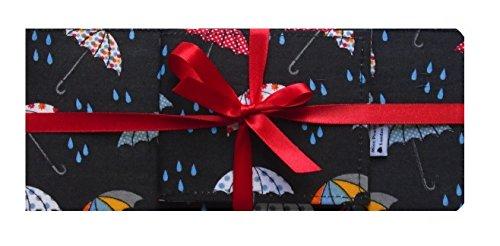 Parapluies Rainy Day Imprimer Porte-cartes TravelCard et porte-chŽquier Accessoire de voyage - fini brillant