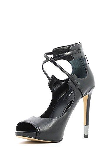 Guess FLAY11LEA07 Sandalo Donna Nero