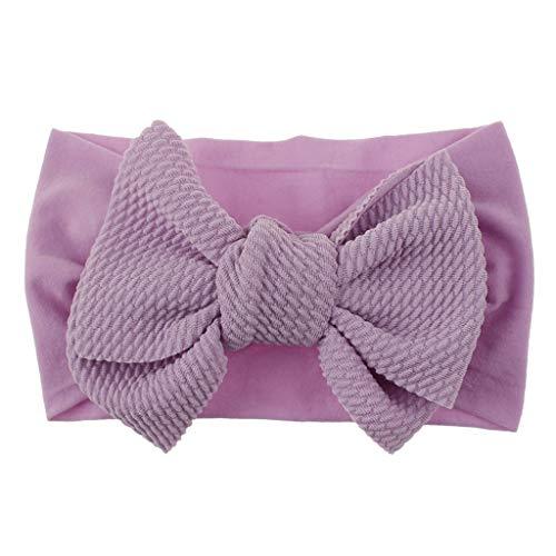 Sanahy Baby Mädchen Stirnbänder und Bögen, Haarschmuck für Neugeborene Kleinkind Mädchen Nylon Stirnbänder Kinder Geschenke -