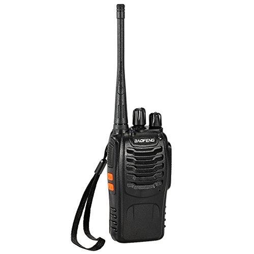 BaoFeng BF-888S 16CH FM UHF 400-470 MHz Talkie Walkie Transceiver 2-Wege-Radio Portable Handheld Interphone Langdistanz 1500mah Akku