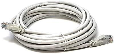 Mr. Tronic Câble de Réseau Ethernet | CAT5E, AWG24, CCA, UTP, RJ45 | Color Gris par Mr. Tronic