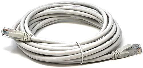 Mr. Tronic 5 Meter Ethernet Netzwerk Netzwerkkabel 5m | Patchkabel | CAT5e, AWG24, CCA, UTP, RJ45 | Grau