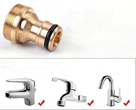 Preisvergleich Produktbild Wasserhahn Adapter Waschmaschine Dusche Schlauchverbinder Car Wash Water Gun
