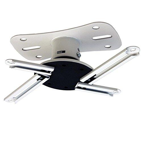 Kanto P101WUniversal Beamer / Projektor Deckenhalterung mit ausziehbar von 30,5cm (weiß)