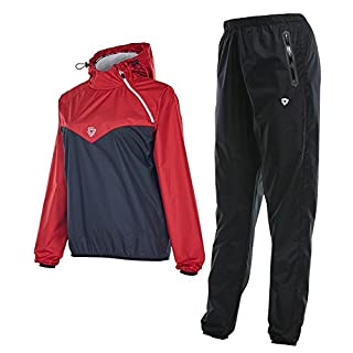 ANGELNEWS Sauna Suit for Lose Weight Fat Burner Sweat Workout Clothes Durable Long Sleeves, Fitness Sweat Suits Unisex Anti-Rip Sport Suits Running Slimming Fat Burner (WOMAN, S)