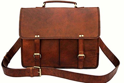 QualityArt , Borsa Messenger  Marrone Brown 16X12X5 Brown