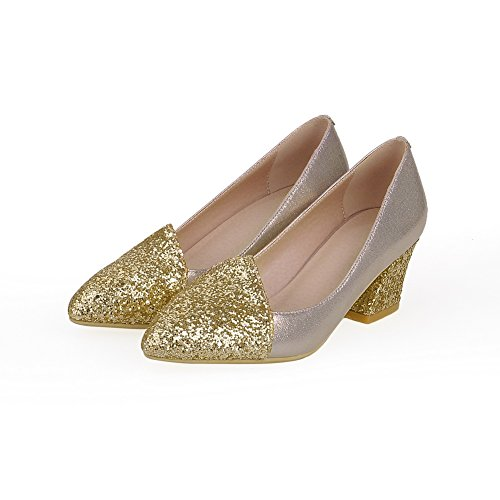 Adee , Damen Pumps Gold