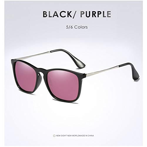 TJJQT Sonnenbrillen Cat Eye Spiegel Polarisierte Sonnenbrille Für Frauen Metall Reflektierende Flache Linse Sonnenbrille Weibliche Oculos