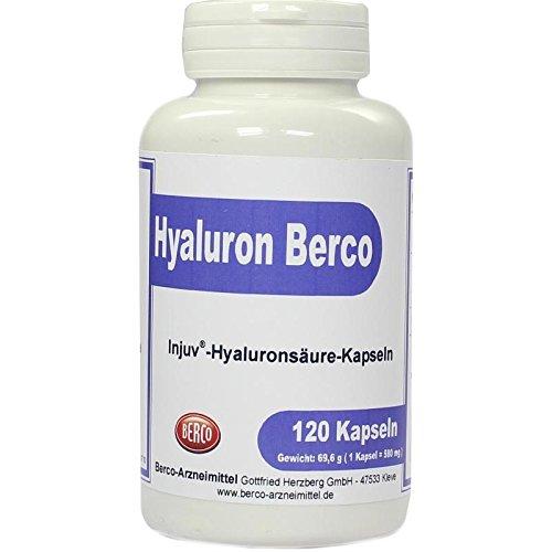 Hyaluron Berco Injuv Kaps 120 stk -