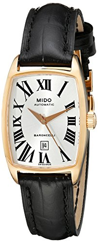 Mido Ladies Watch Automatic Baroncelli Tonneau M0031073603300
