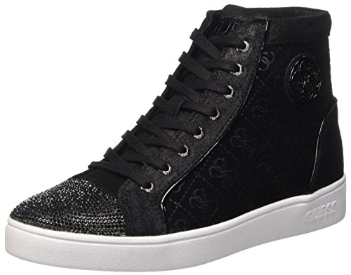 Guess Gloria, Scarpe a Collo Alto Donna, Nero, 39 EU