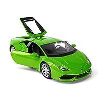 Serie di auto: auto sportivaNome del modello: Lamborghini HuracanTipo di giocattolo: giocattolo di metalloTipo di modello: prodotto finitoMateriale del prodotto: metallo, plastica di alta qualitàClassificazione di colore: grigio, biancoEtà applicabil...