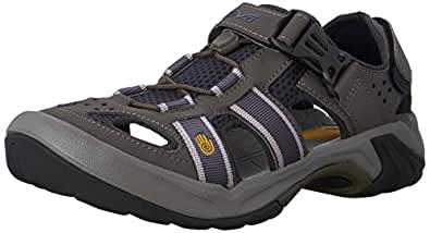 Teva Men s Omnium Closed-Toe Sandal Ombre Blue 8 B(M) US