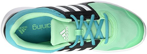 adidas Essential Fun 2, Chaussures de Running Femme Multicolore - Verde / Blanco / Negro (Briver / Ftwbla / Negbas)