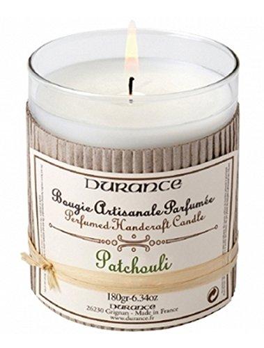 Durance en Provence - Duftkerze Patchouli 180 g (Patchouli Aromatherapie-kerze)