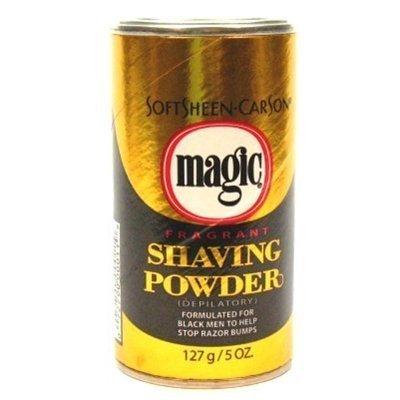 Magic Gold Shaving Powder 5oz. Fragrant (3 Pack) by Magic