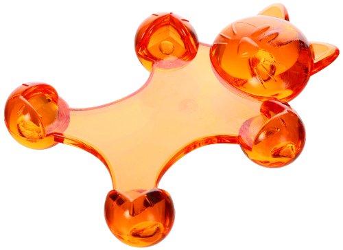 Genie Kitty Acryl Zoo süßer Notizblockhalter (Katzen Design, massiv, orange)