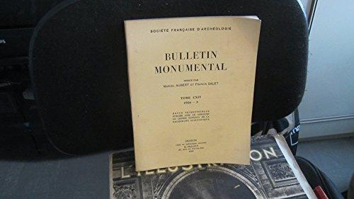 Bulletin Monumental,tome CXIV (114),1956,fascicule 3 / Les Miracles de Saint-Martin,Recherches sur les Peintures Murales de Tours au Ve Sicle