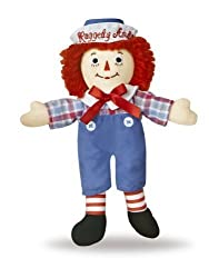 "Raggedy Andy Classic Doll 8"" By Aurora World"