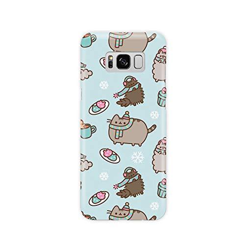 Handyhülle Niedliche Winterkatzen für Samsung Hardcase Durable Schutzhülle Cover Case, Samsung Galaxy S6, Frosty Cat Snowflakes
