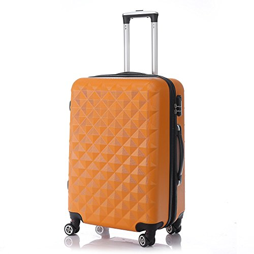 Rotelle per 2066 rigida Trolley Set - Trolley Set Valigia M, L, XL da viaggio in 12 colori, arance, M