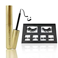 remote.S Magnetic Eyeliner With False Lashes Set Waterproof Natural Long Lasting Liquid Eye Liner