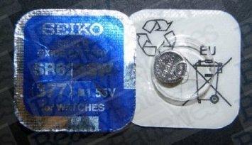 Seiko SR626SW (377) Batterie SR626SW (377), Stück: 1 377 Silver Oxide Watch Battery