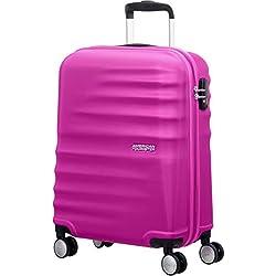 American Tourister WaveBreaker Spinner 55/20 Equipaje de Mano, 36 litros, Color Rosa
